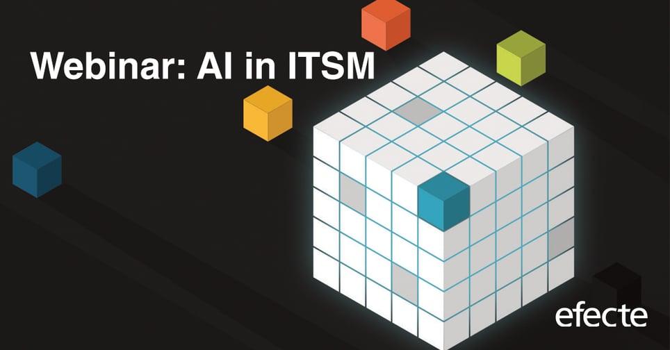 AI in ITSM webinar in English