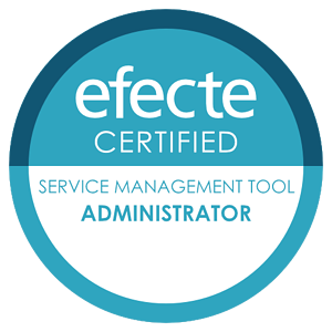 Certification badge Service Management Tool