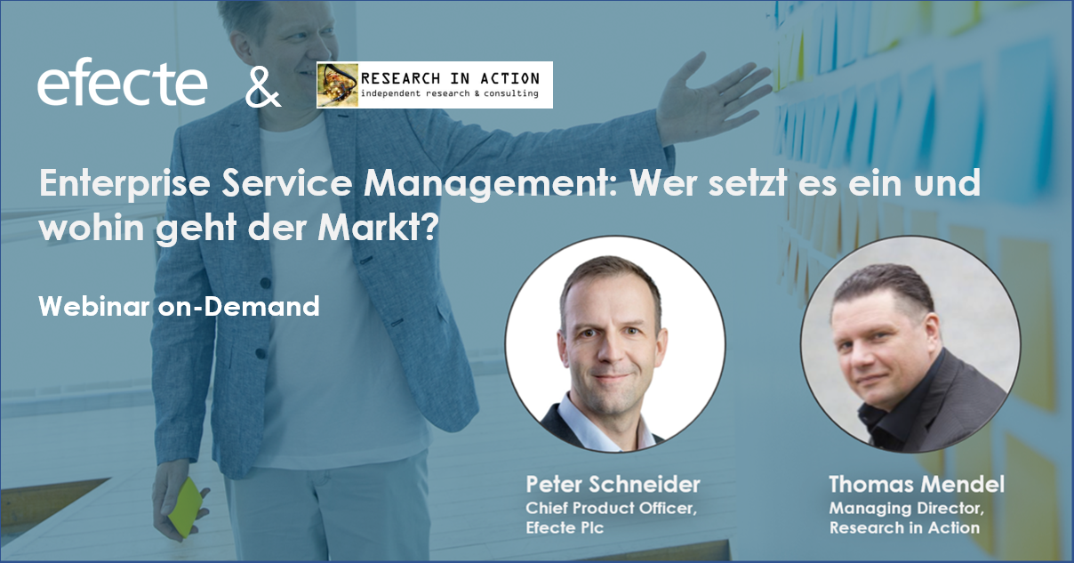ESM Webinar mit Research in Action und Efecte