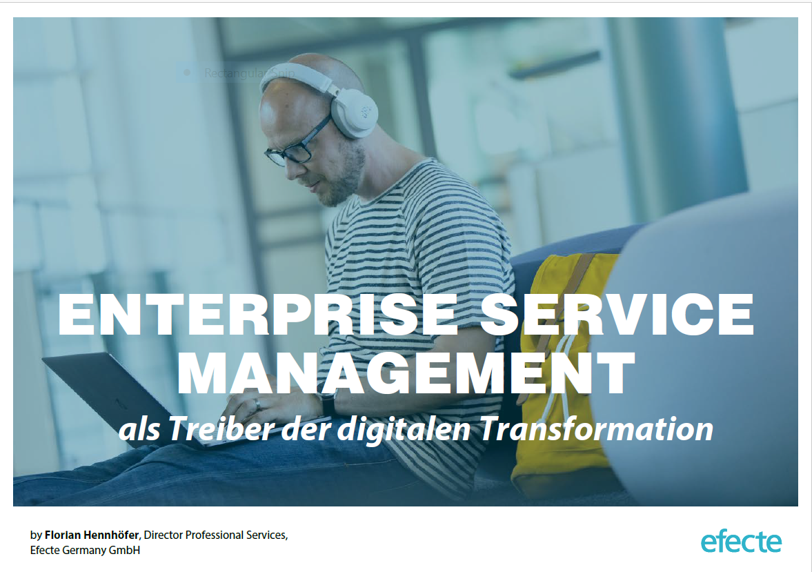 Ebook Efecte about Enterprise Service Management