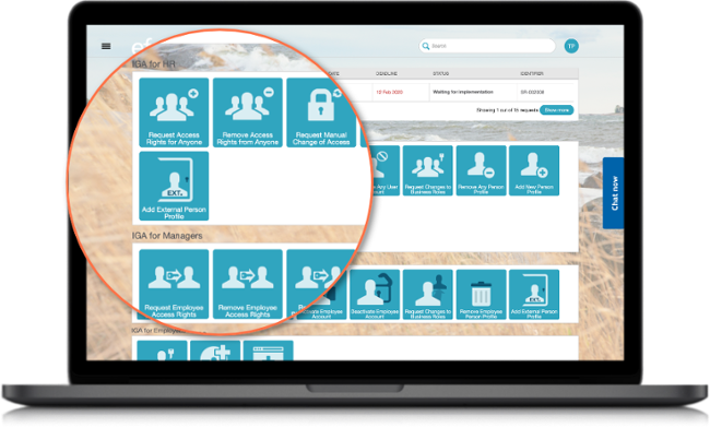 Efecte IAM Self-Service Portal