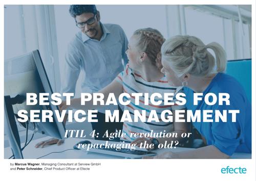 Efecte ITIL 4 White Paper Cover