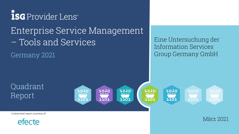 Titelseite ISG ESM Studie 2021