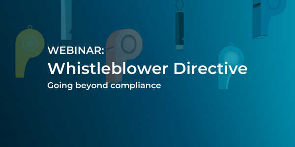 Whistleblower Directive 600X300