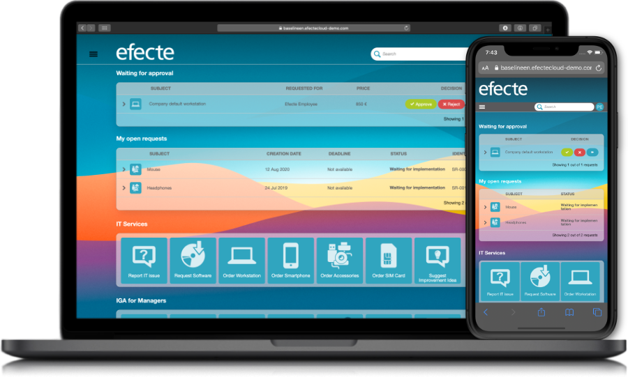 efecte-itsm-self-service-portal