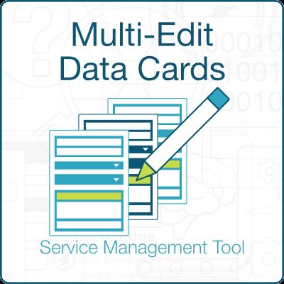 Multi-Edit data cards