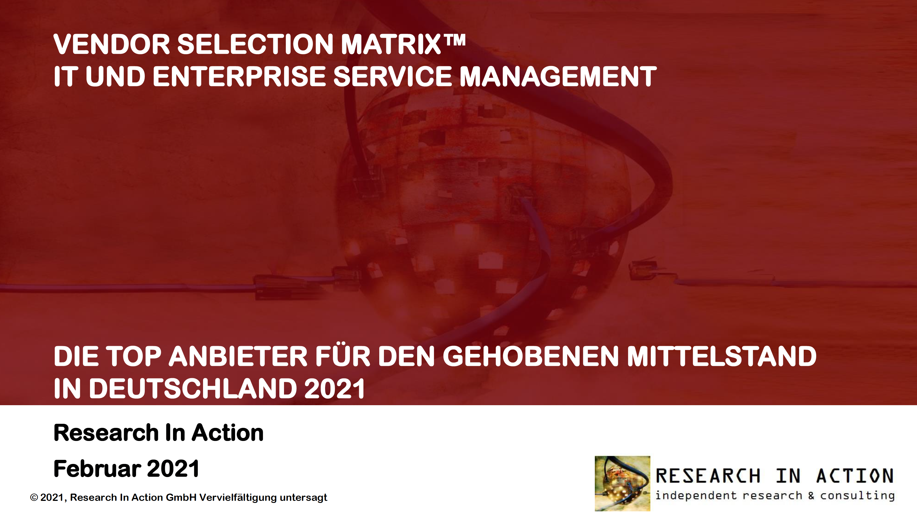 RIA Vendor Selection Matrix DE 2021